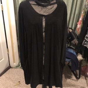 NWOT Antthony black cardigan .